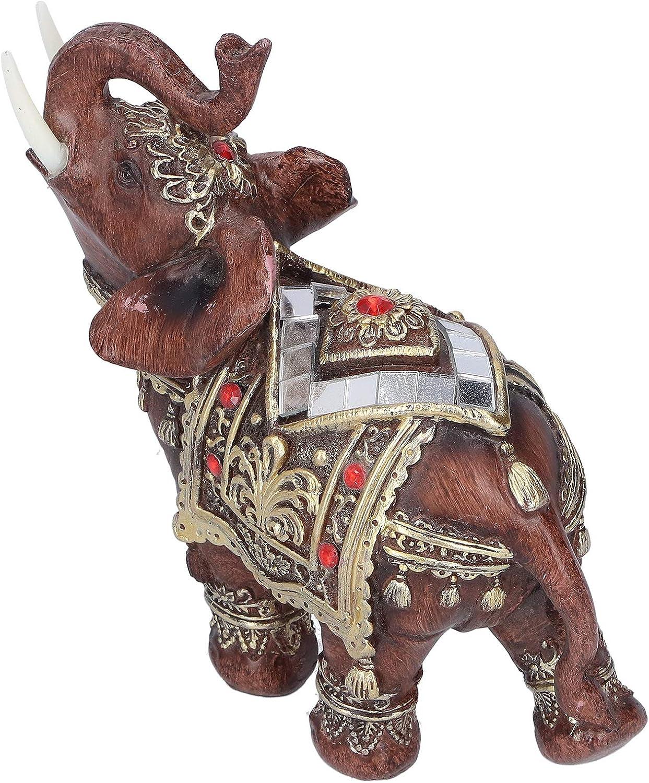 Pwshymi Lifelike Elephant Figurine Durable Genuine Free Shipping Gif Rare Ornament