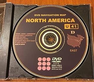 East 2017 Gen 5 Toyota Lexus Navigation Map Update DVD Ver 16.1 U41