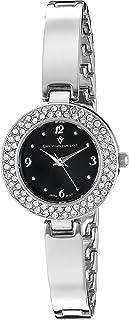 Christian Van Sant Women's CV8612 Palisades Analog Display Quartz Silver Watch