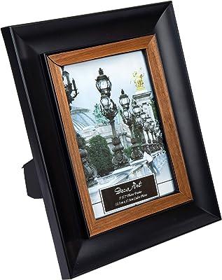 Amazon.com: Marco de fotos negro para fotos Cadre foto ...