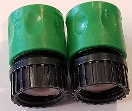 lawn mower deck hose connector