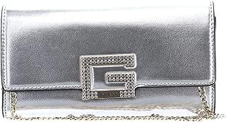 Guess Womens Clutch Bag, Silver - MG767571