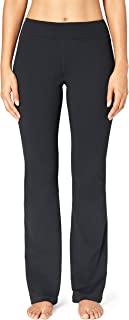 Core 10 Amazon Brand Women's 'Build Your Own' Yoga Pant - Medium Waist Boot Cut Pant