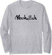allah mashallah gods will with god helping hype t-shirt Long Sleeve T-Shirt