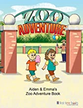 Personalized Children's Zoo Adventure Book with Customized Kid's Name, Hair Color, Gender, and More | First Time Books