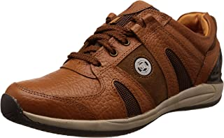 Red Chief Men's Leather Sneakers