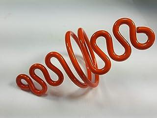 Ronds de serviette,orange.Modele Marée