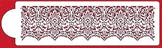 Victorian Lace Cake Stencil Border by Designer Stencils