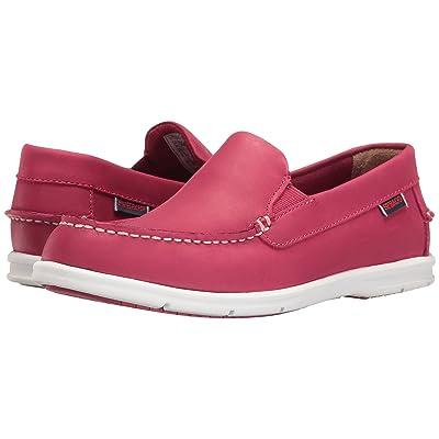 Sebago Liteside Slip-On (Dark Pink Leather) Women