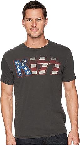 Kiss American Flag Tee