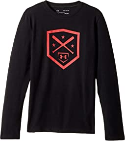 Under Armour Kids - Homeplate Long Sleeve Tee (Big Kids)