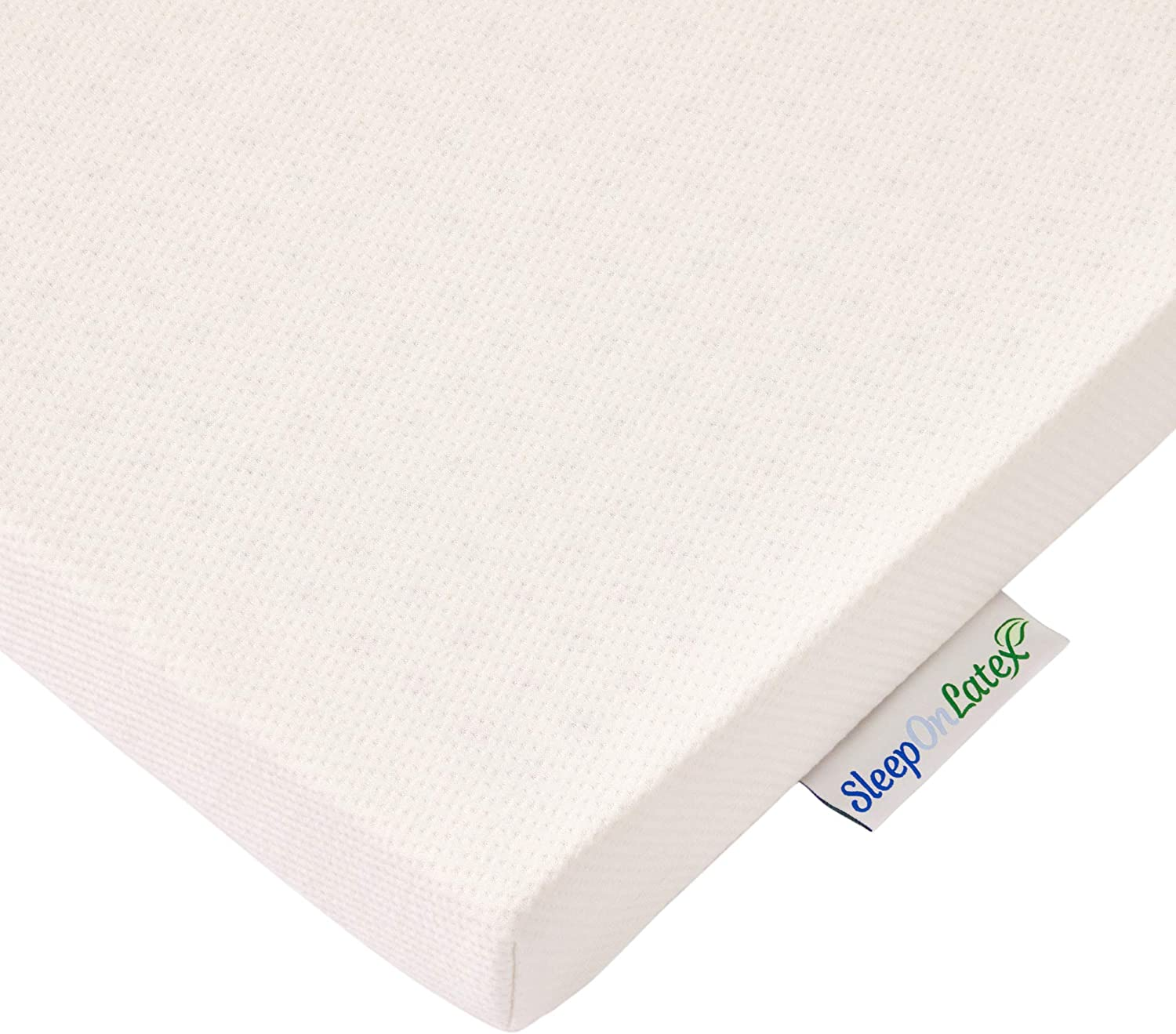 Sleep On Latex Mattress Topper Cover 1 Inch Twin Cover Only Home Kitchen