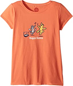 Happy Dance Crusher Tee (Little Kids/Big Kids)