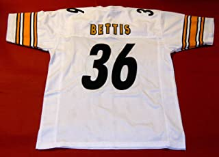 JEROME BETTIS WHITE PITTSBURGH CUSTOM STITCHED NEW FOOTBALL JERSEY MEN'S XL
