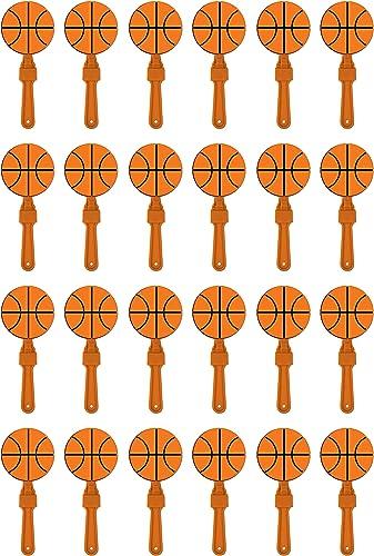 liquidación hasta el 70% Beistle - Juego de 24 24 24 Corchetes de Baloncesto, 17,78 cm, Color naranja  80% de descuento