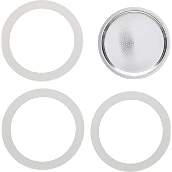 Replacement Gaskets & Screen for 9 Cup Moka Express