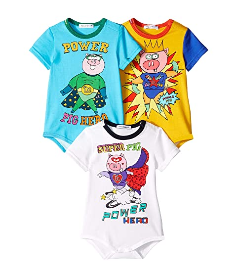 Dolce & Gabbana Kids D&G Chinese New Year One-Piece (Infant)