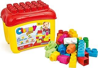 Clemmy (クレミー) クレミープラス 1.5歳からのやわらかブロック 赤ちゃんが踏んでも崩しても痛くない ボックス30個入