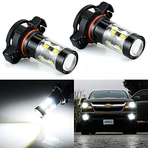 JDM ASTAR Extremely Bright Max 50W High Power 5202 5201 PS19W LED Fog Light  Bulbs For