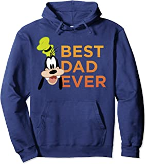 Disney Mickey And Friends Father's Day Goofy Best Dad Ever Sweat à Capuche