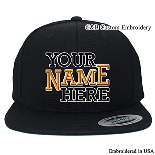 online retailer 003a9 8afb2 Yupoong Custom Hat. 6089 Snapback. Embroidered. Place Your Own Text