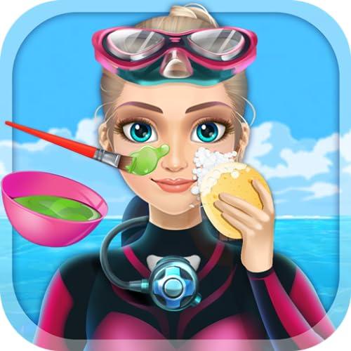 『ダイビングプリンセス&SPA - 無料女の子ゲーム』の1枚目の画像