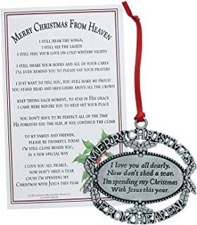 Merry Christmas From Heaven Ornament (Personalized)