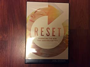 Reset Embracing the new that God has for you-3 messages cd/dvd set JOEL OSTEEN