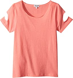 Cut Out Short Sleeve Top (Big Kids)