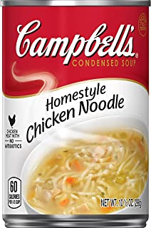 Campbell'sCondensed Homestyle Chicken Noodle Soup, 10.5 Ounce (Pack of 12)