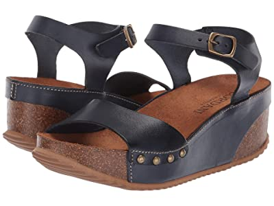 Cordani Mackie (Navy Leather) Women
