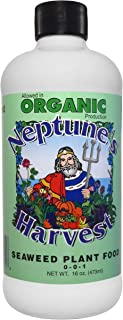 Neptune`s Harvest Seaweed Fertilizer 0-0-1, 16 Ounce