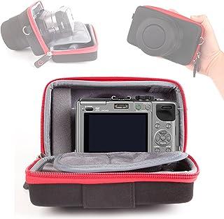 DURAGADGET Custodia per Panasonic Lumix GX85 | GF8 | DMC-ZS50 | DMC-TZ70 | DMC-FT30 - con Fascia per Cintura