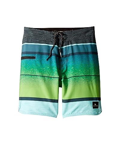 Rip Curl Kids Mirage Clearwater Boardshorts (Big Kids) (Green) Boy