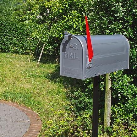 アメリカン ポストボックス 単品 スタンド メールボックス シルバー ポスト アメリカン雑貨