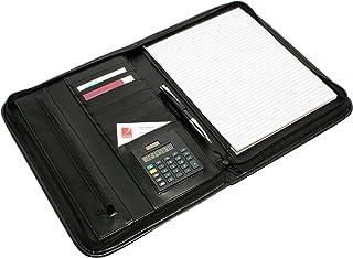 REXEL R90087 COMPENDIUM,ZIP PAD HOLDER BLACK