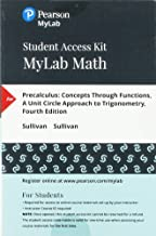 MyLab Math with Pearson eText -- 24-Month Standalone Access Card -- for Precalculus: Concepts Through Functions, A Unit Circle Approach to Trigonometry (4th Edition)