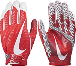 Nike Adult Vapor Knit 2 Receiver Gloves 2017 (Maroon/White, Small)