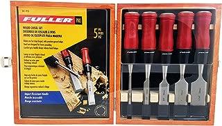 Fuller Tool 301-1955 Wood Chisel Set In Keepsake Box (5Piece)
