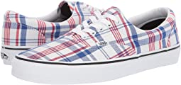 (Plaid) White/True White