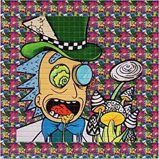 mad hatter blotter art