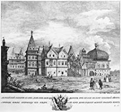 Russia Wooden Palace Nwooden Palace At Kolomenskoye Russia Used As A Summer House By Russian Tsars From Ivan Kalita To Peter The Great Line Engraving 1768 Poster Print by (24 x 36)