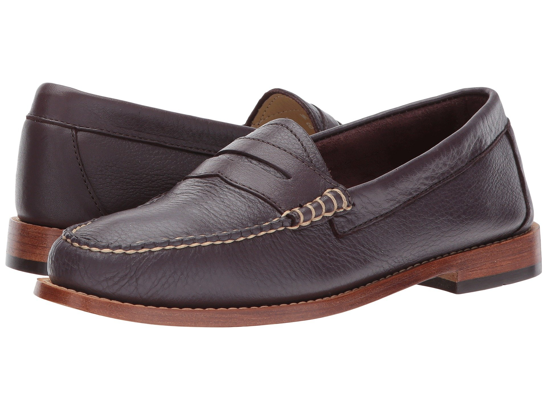 c16f74894de G.H. Bass   Co. Whitney Weejuns In Eggplant Soft Tumbled Leather ...