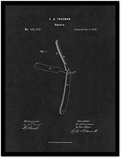 ماكينة حلاقة سبوت كلر آرت PATENT150010BK-1317BK 1873، 33 سم × 43 سم