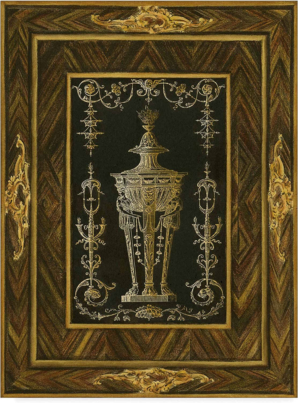 Trademark Fine Art Inlay Study Ii Art by Unknown, 14x19