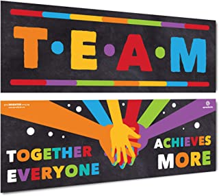 Sproutbrite Classroom Banner and Poster Decorations Team