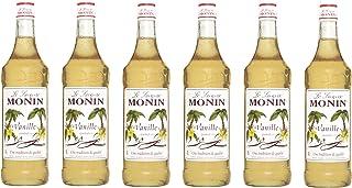 Monin Sirup Vanille, 1,0L 6er Pack