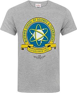 SPIDER-MAN Homecoming Midtown School Men's T-Shirt (XXXL) Grey