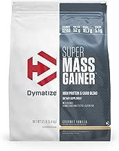 premium mass gainer nutrition facts