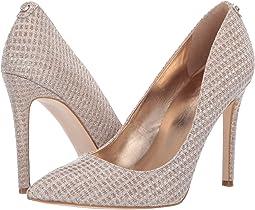 adf6e621b26 Silver closed toe shoes